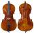 手作りの真虎纹检定はチェロ初心者の児童楽器3/4チェロを演奏します。