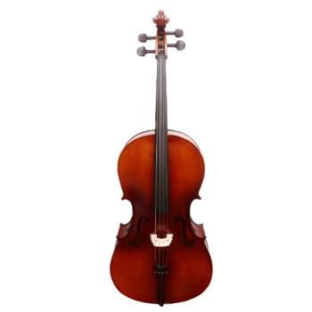 奇宝居易学はチェロの初心者の大人の演奏の音質を高めます。手作りの木調音試験の入門1/4