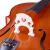 エレクトリック・アコースティック・ハンド専門大人試験子供初心者練習入門演奏級チェロ・アキラ1/4サイズ【身長120 cm以上に最適】